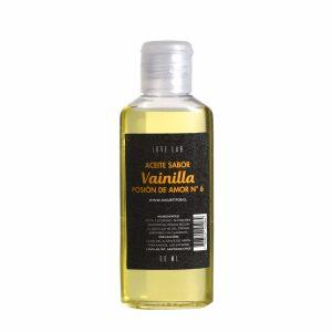 Aceite De Masaje Y Lubricador Con Sabor Vainilla