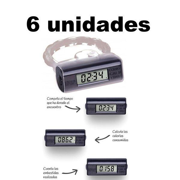 Anillo Contador De Rendimiento Sexual x 6 Unidades