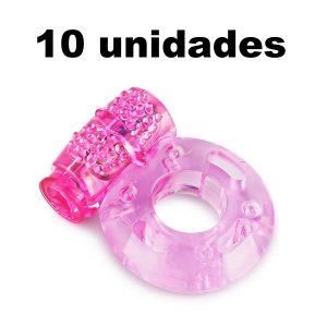 Anillo Vibrador Rosado Reutilizable x 10 Unidades