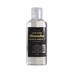 Aceite De Masaje Y Lubricador Con Sabor Almendra